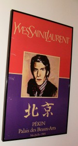 ysl poster