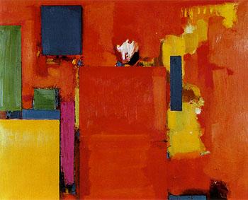 hans hoffman, golden wall, 1961