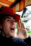 yodeler with hat