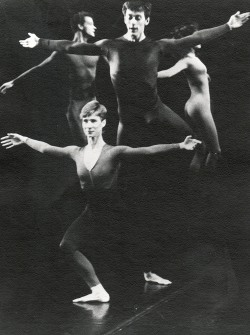 merce cunningham dancers neil greenberg, louise burns