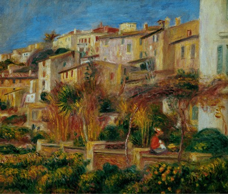 terrace at cagnes - 1905