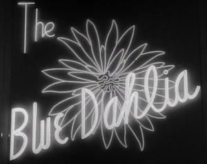 title blue dahlia