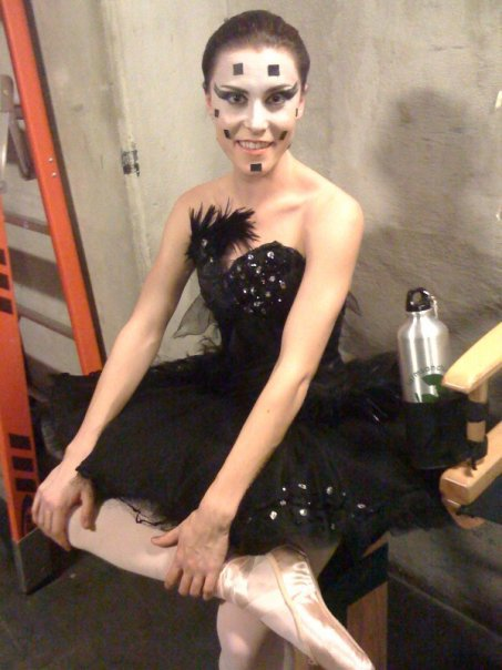 When shown in preview screenings of BLACK SWAN, they elicited gasps of