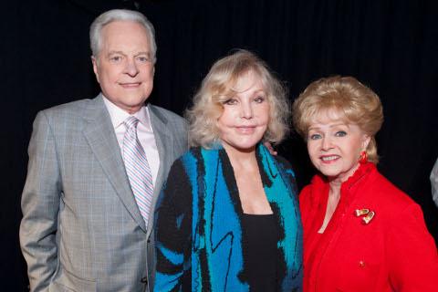 Robert Osborne, Kim Novak, Debbie Reynolds
