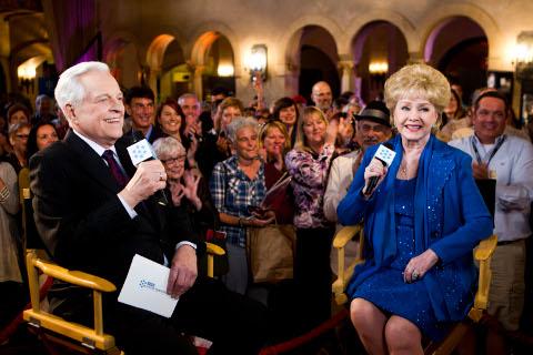 Robert Osborne, Debbie Reynolds