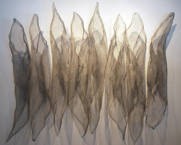 Amy Jean Boebel S Intriguing Mesh Metal Sculptures Arts Meme