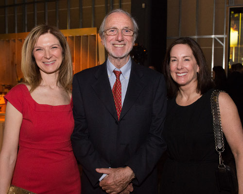 Academy CEO Dawn Hudson (left), Design Architect of The Academy Museum Renzo Piano (center) and Academy Governor Kathleen Kennedy
