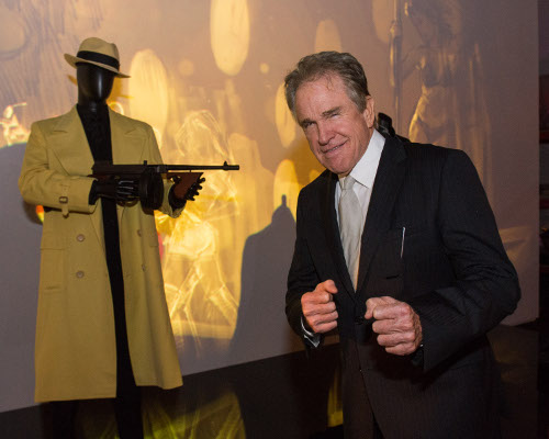 Warren Beatty during the inaugural celebration for the future home of The Academy Museum of Motion Pictures on Thursday, April 11, 2013 at the historic Wilshire May Company Building in Los Angeles.