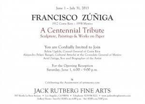 Zuniga invitation