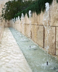 getty fountain