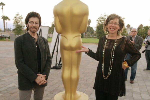 "debra levine, george chakiris, ""oscars outdoors"" august 3, 2013"