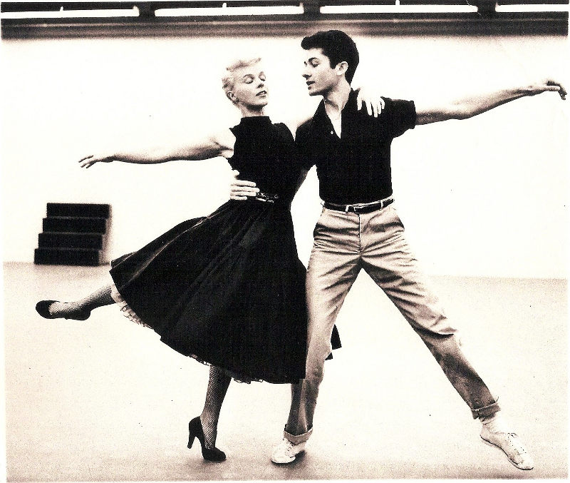 George Chakiris Sally Forrest Rehearse Quot Night And Day