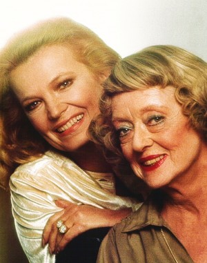 Gena Rowlands & Bette Davis in Strangers The Story of a Mother and Daughter