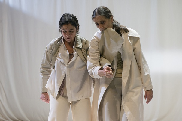 Veteran dancers Raffaella Giordano & Maria Muñoz, reminiscent of (female)