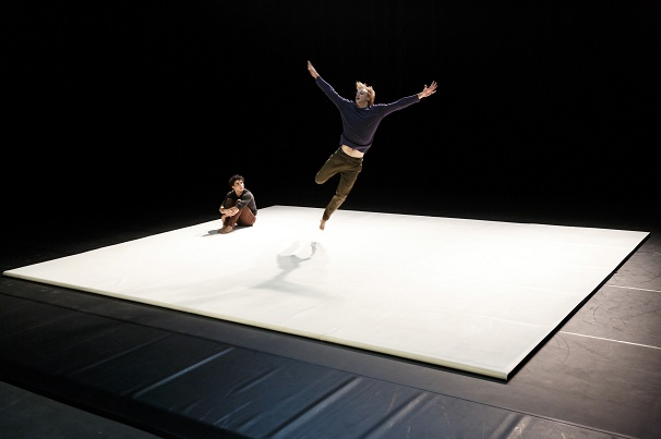 Radhouane El Meddeb, Matias Pilet & Alexandre Fournier's brilliant blend of acrobatics, tumbling and dance, NOS LIMITES
