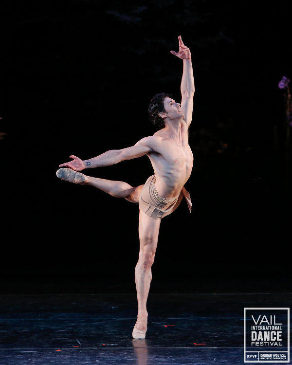 dancers on ballet stage Nude
