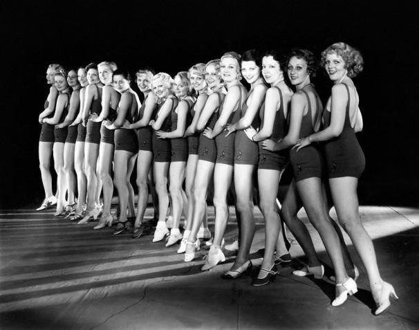 Footlight Parade-1933-Chorus girls