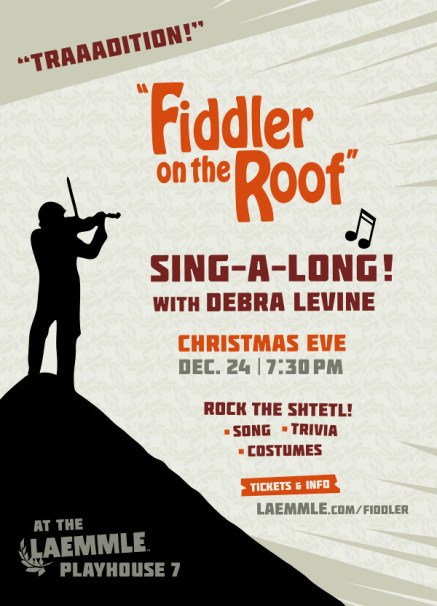 Discount Tickets For Laemmle Quot Fiddler On The Roof Quot An Arts