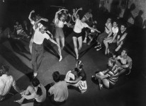 Sept. 7, 1947 Ballerinas following the steps of Jerome Robbins, who choreographed