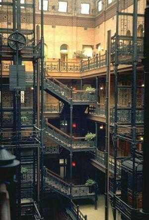Bradbury Bldg Interior