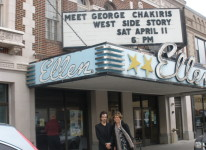 George Chakiris, star of West Side Story, Debra Levine