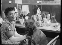 Billie_Holiday_and_Mister,_New_York,_N.Y.,_ca._June_1946_(William_P._Gottlieb_04271)