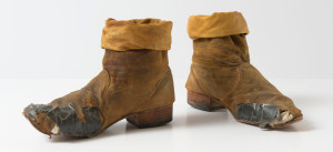 Keith Richards boots from 1981 tour
