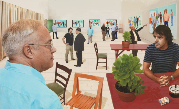 David-Hockney-Painting-and-Photography-15The-Red-Table-DH15-105