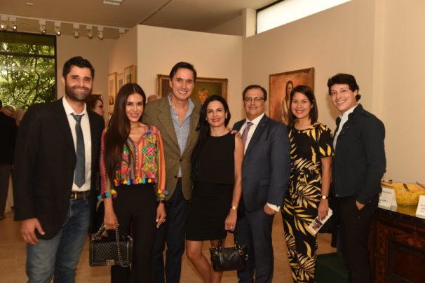 Bernardo Pena, Carla Ortiz, Juan Bastos, Michelle Nielsen Moretti, Maria Alejandra Guerrero, Renaldo Pacheco