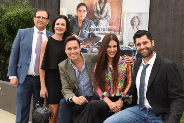 Marco Valverde, Michelle Nielsen Moretti, Juan Bastos, Carla Ortiz, Bernardo Pena