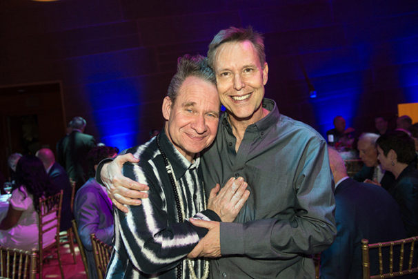 Peter Sellars and Grant Gershon